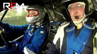 Art McCarrick (Driver) and John McCay (Navigator) in their Honda Civic on Stage 5 of the Cork '20 International Rally 2016. Upload Footage courtesy of Rally Focus Media.