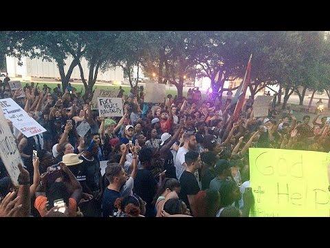 ΗΠΑ: Διαδηλώσεις μετά τα νέα κρούσματα αστυνομικής βίας κατά Αφροαμερικανών