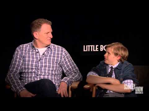 Josh Macuga Interviews 'Little Boy' Stars Michael Rapaport & Jakob Salvati