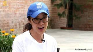 Interview with Michelle Yeoh
