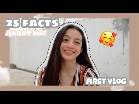 25 Facts About Me! | Ayumi Delro