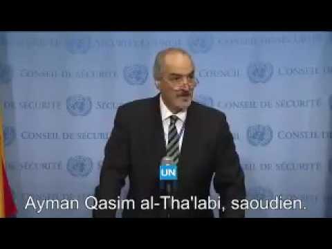 ONU : Diffusion des noms des officiers occidentaux présents à Alep aux côtés d'Al Qaeda (vidéo)