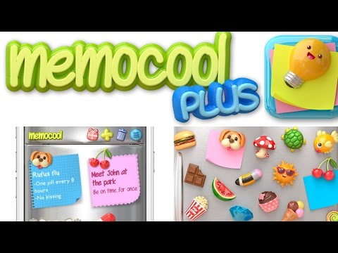 Memocool Plus:  Fun Adorable Note App For Iphone & Android!!