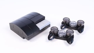 How to Build a LEGO PlayStation 3 (PS3) for Minifigs