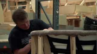 Video showing Part 2 of the Upholstery Process