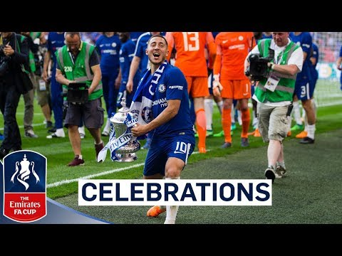 Chelsea Celebrate FA Cup Final Win! | Emirates FA Cup Final 2017/18