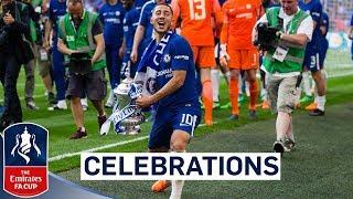 Video Chelsea Celebrate FA Cup Final Win!   Emirates FA Cup Final 2017/18 MP3, 3GP, MP4, WEBM, AVI, FLV September 2018