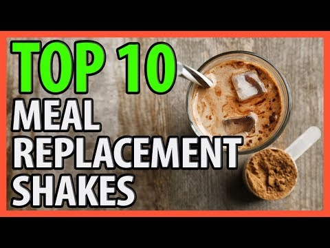 ⭐️✔️ 10 Best Meal Replacement Shakes 2018 👍🏻⭐️