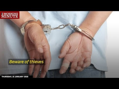 8 people were arrested by the Department of Criminal Investigation for committing a number of theft crimes in Salalah