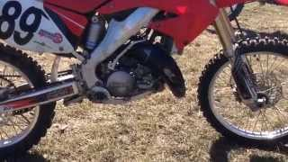 7. how to change oil on a CR125