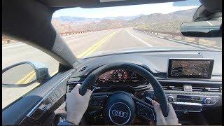 2018 Audi RS5 POV Drive by MilesPerHr