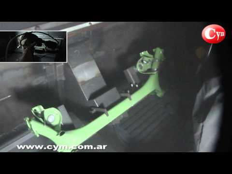 Equipamento para Shot Peening CNC Robotizado