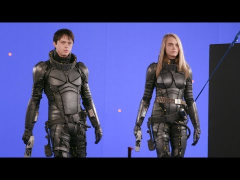 'Valerian' Behind The Scenes