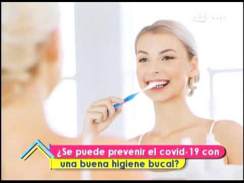 ¿Se puede prevenir el covid-19 con una buena higiene bucal?