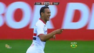 Gol do jogo Chapecoense 0 x 1 São Paulo - 7ª Rodada Brasileirão 2015 - 13/06/2015.
