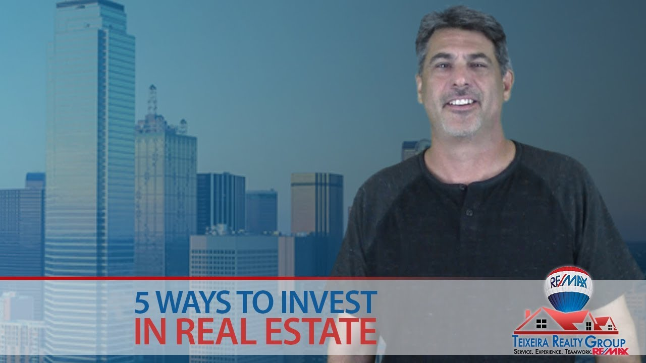 5 Types of Real Estate Investing