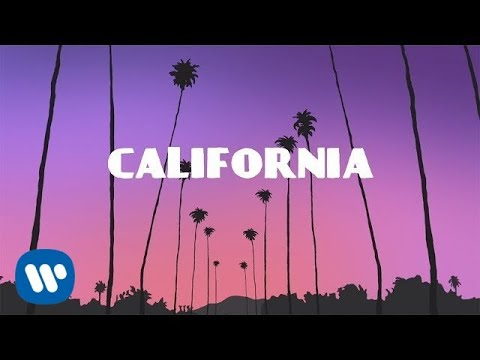 California Lyric Video