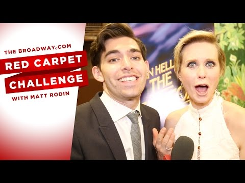 RED CARPET CHALLENGE: THE LITTLE FOXES with Cynthia Nixon, Laura Linney, and more!