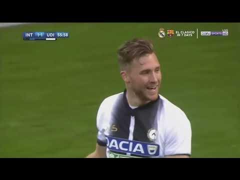 Inter 1-3 Udinese Highlights  16-12-2017