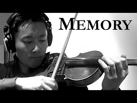 Memory From Cats Violin Cover (Edward Chang)
