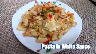 Try this white sauce pasta recipe, creamy butter pasta with lot of veggies and cheese.For more recipes log on to http://reshuskitchen.blogspot.com/