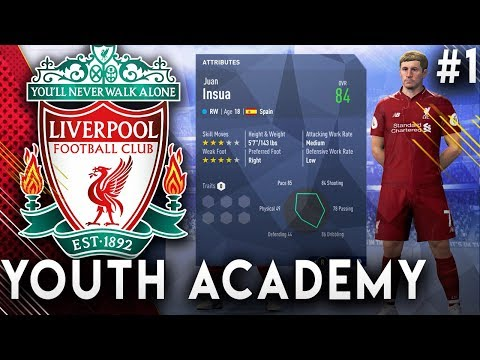 FIFA 19 Liverpool Youth Academy Career Mode EP1 - Signing Amazing Talents!!