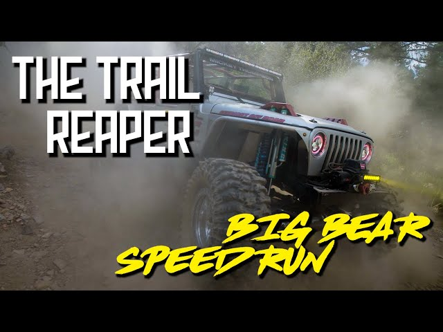 Gold Mountain, Big Bear – Hometown Speed Run with Trail Reaper