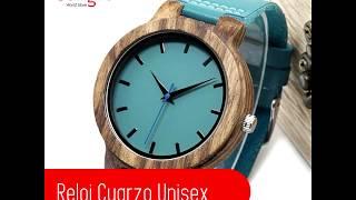 Reloj Cuarzo UNISEX - Verde aguamarina