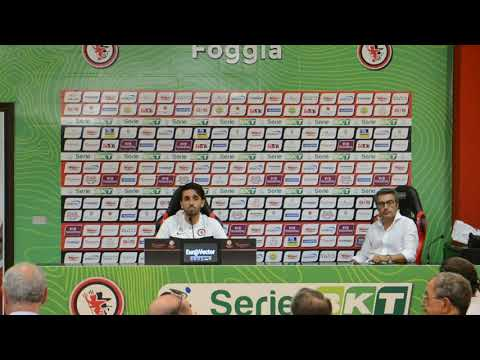 """Foggia Calcio, Grassadonia: """"Questa partita dobbiamo giocarla di testa sfruttando gli episodi"""""""