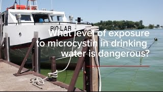 HABs FAQs: What level of exposure to microcystin in drinking water is dangerous?