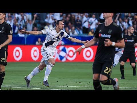Video: GOAL: Zlatan Ibrahimovic buries a rocket scissor kick goal past LAFC