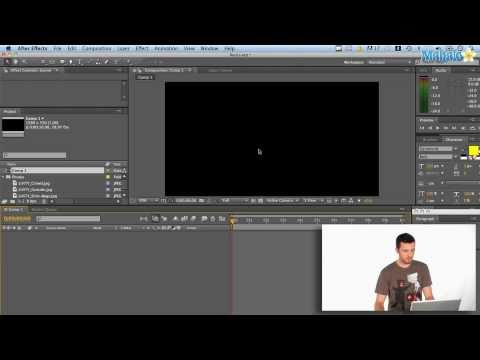 After Effects - Check out Bas Rutten's Liver Shot on MMA Surge: http://bit.ly/MMASurgeEp1 To begin, open Adobe After Effects and start a new project. You'll notice all of yo...