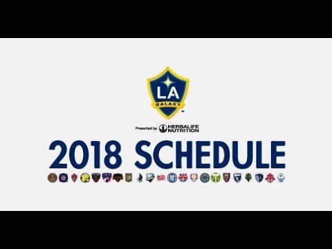 Video: 2018 LA Galaxy Schedule