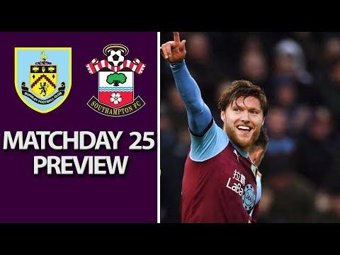 Video: Burnley v. Southampton | PREMIER LEAGUE MATCH PREVIEW | 2/2/19 | NBC Sports