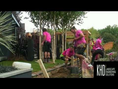 KHD - Bluestone supplier for 2007 Chelsea Flower Show