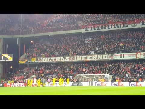 Standard Luttich/Liège  2 Frankfort/Frankfurt 1 : Europa League 07 11 2019