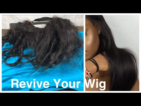 Restore Your Wig| Repair/Revive Dry Matted Hair Part 1