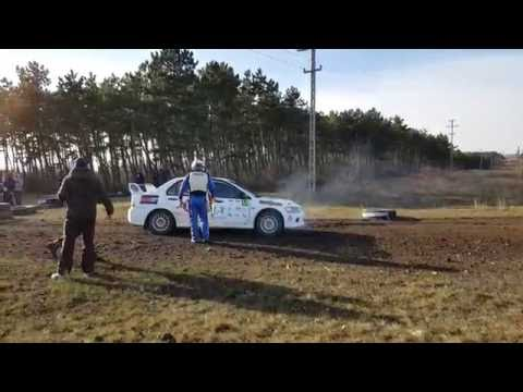 Bodolai-Czoko Fiesta R5 Crash Mikulás Rally 2016