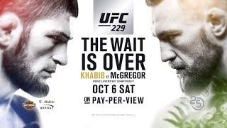 UFC 229: Khabib vs McGregor