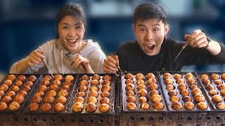 We Tried To Make 200 Octopus Balls In 10 Minutes • Tasty by Tasty