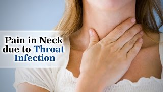 A sore throat refers to pain, itchiness, or irritation of the throat. You may have difficulty swallowing food and liquids and the pain may get worse when you try to swallow. Throat pain is the primary symptom of a sore throat. However, other symptoms may include a dry throat, swollen glands in the neck, white patches on the tonsils, and hoarseness.