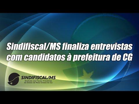 Sindifiscal-MS finaliza entrevistas com candidatos à prefeitura de CG