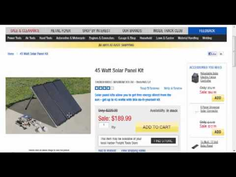 solar - Please watch this video so you don't make the same costly mistakes in building your DIY solar panel system as I did. Hopefully this information will save you time, money and a whole lot of...