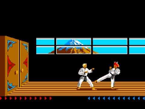 karateka atari 7800