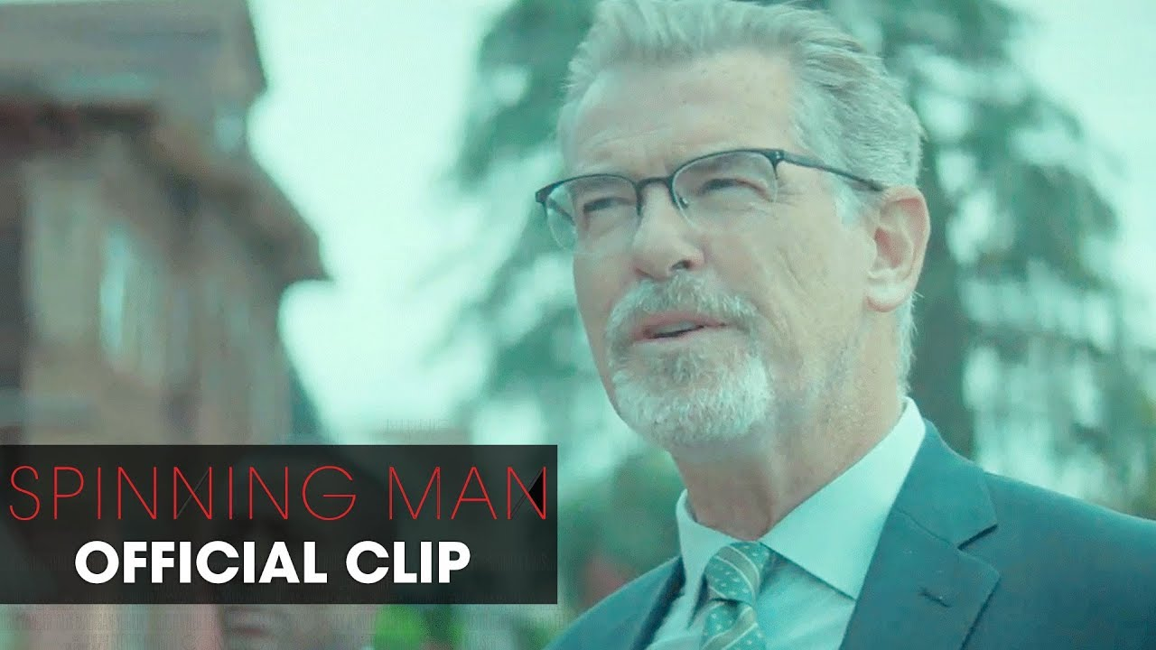 The Truth Has a Way of Turning on Guy Pearce in Psychological Mystery Thriller 'Spinning Man' (Clip) with Pierce Brosnan & Minnie Driver