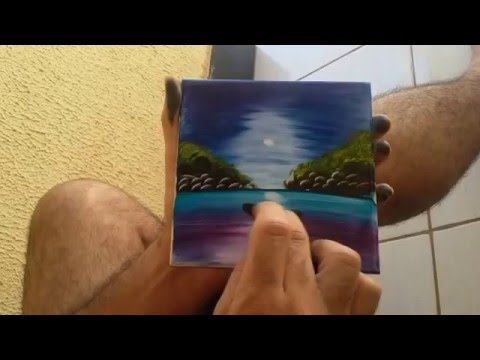 A really cool 2 minute tile painting