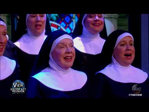 'Sister Act' Reunion: Whoopi Goldberg And Co-Stars Perform   The View