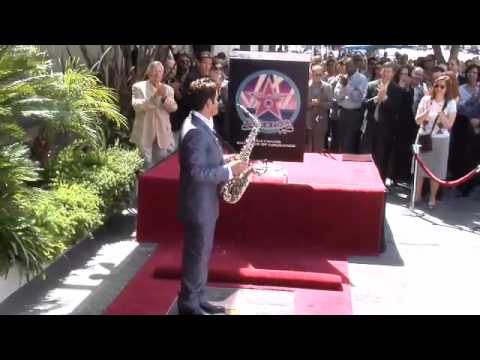 Dave Koz Walk of Fame Ceremony