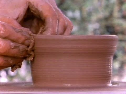 Making greek vases video ancient greece khan academy for How to make ceramic painting