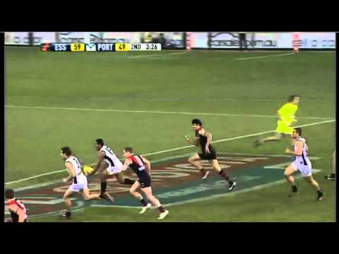 AFL 2011 &#8211; Round 23 &#8211; Essendon vs. Port Adelaide &#8211; Game Highlights